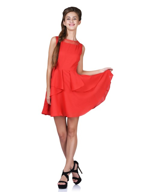 Day Dream Dress-Red