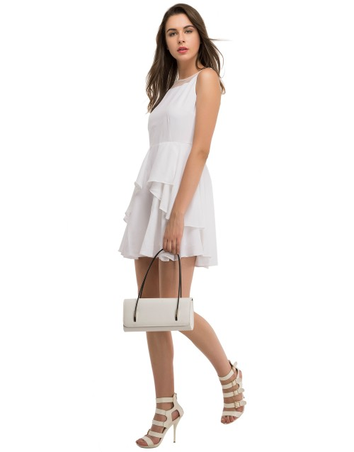 Day Dream Dress-White